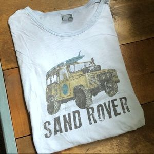 HWY 30A Shirts - Lt Blue Super Soft HWY 30A Sand Rover T-shirt